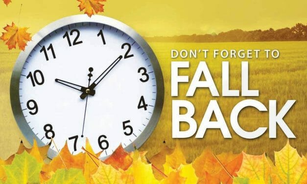 Daylight Savings Time Ends This Sunday